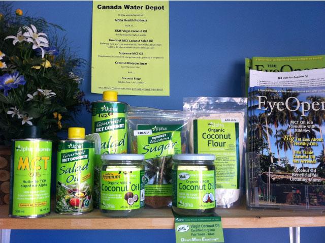 products carried by Canadian Water Depot